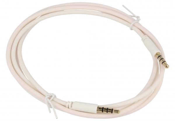 Kabel 1.5m JACK 3.5mm 4 pin - JACK (wtyk/3.5mm 4 pin wtyk),0