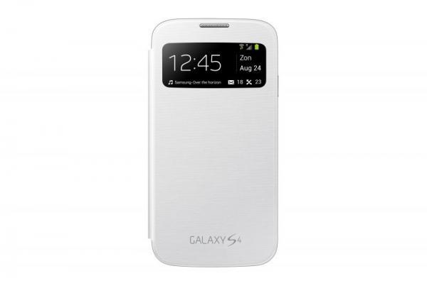 Pokrowiec   Etui S View do smartfona Samsung Galaxy S4 EFCI950BWEGWW (białe),0