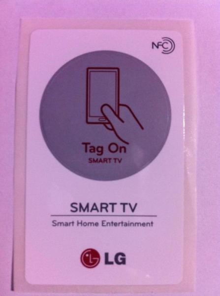 Tag | Naklejka NFC Smart TV Smart TV 1szt. do smartfona EBX61849401,0