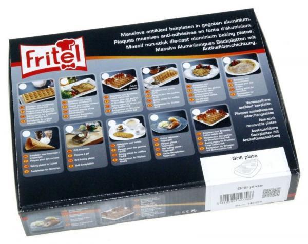 142358 SET BAKPLATEN VOOR GRILL FRITEL,0