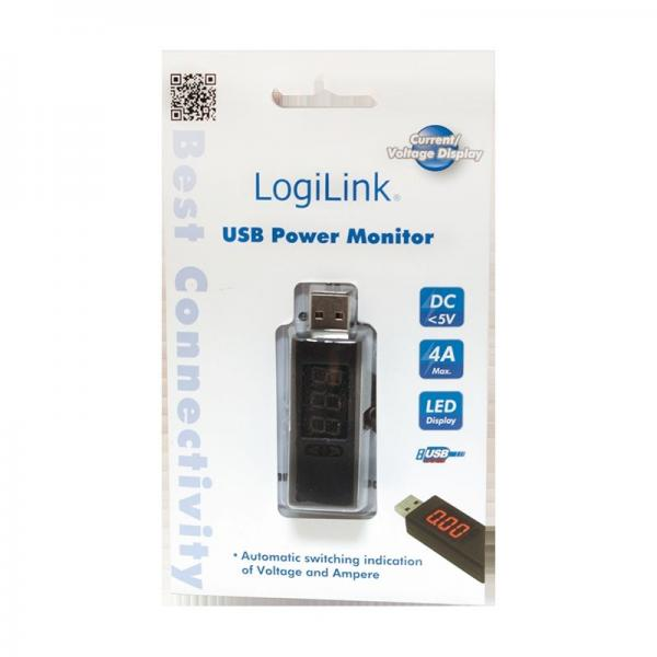 PA0067 Miernik zasilania USB LOGILINK,1