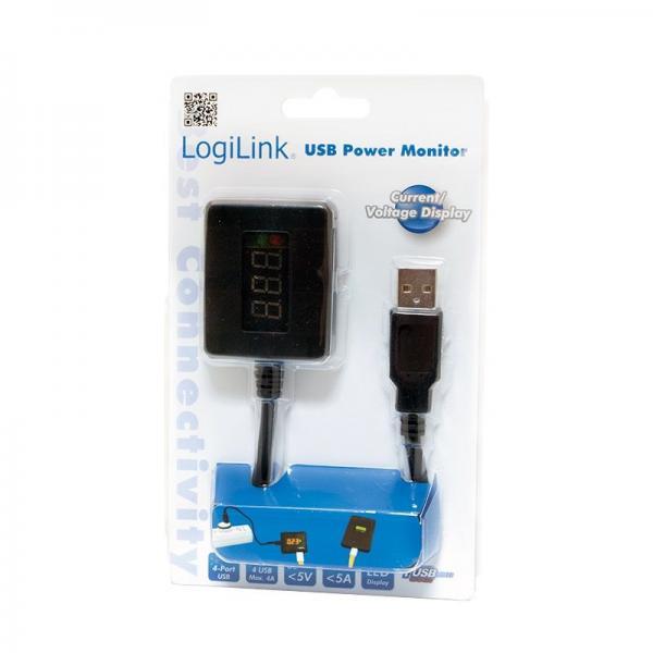 PA0068 4-PORT USB LEISTUNGSMESSGERÄT LOGILINK,1