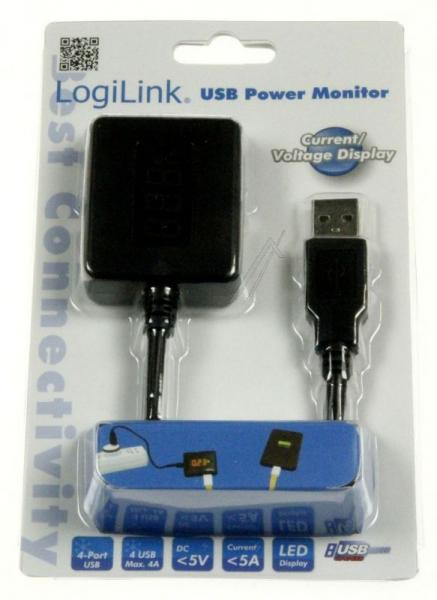 PA0068 4-PORT USB LEISTUNGSMESSGERÄT LOGILINK,2