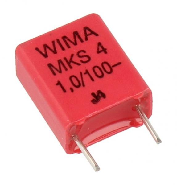 1uF | 100V Kondensator impulsowy MKS4 WIMA,0