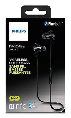 SHB5800BK00 BLUETOOTH NFC IN-EAR SPORT KOPFHÖRER PHILIPS,2