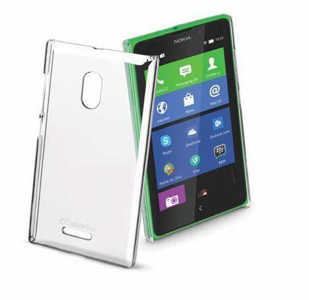 Pokrowiec | Etui silikonowe do smartfona Nokia XL Cellular line 36141 (przezroczysty),1