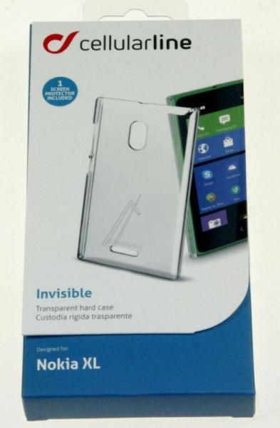 Pokrowiec | Etui silikonowe do smartfona Nokia XL Cellular line 36141 (przezroczysty),2