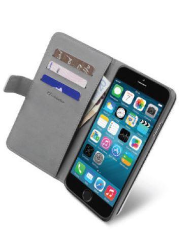 Pokrowiec | Etui gelly Wallet Book Case do smartfona Apple Iphone 6 Cellular line 35389 (białe),0