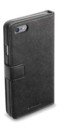 Pokrowiec | Etui gelly Wallet Book Case do smartfona Apple Iphone 6 Cellular line 35389 (białe),1