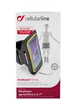"""Pokrowiec   Etui ramienny 5.5"""" do smartfona Cellular line 37019 (czarny),1"""