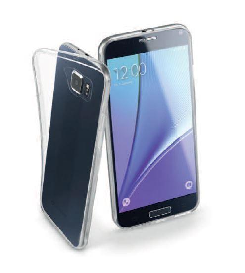 Pokrowiec | Etui silikonowe do smartfona Samsung Galaxy S7 Cellular line 37353 (przezroczysty),0