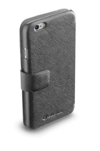 Pokrowiec   Etui classic Wallet Book Case do smartfona Apple Iphone 6 plus Cellular line 36079 (czarne),2