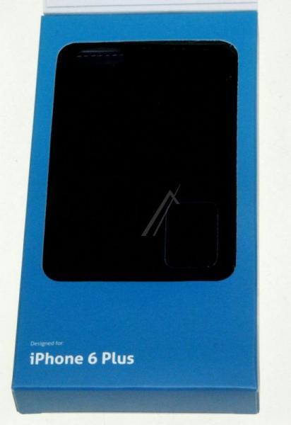 Pokrowiec   Etui classic Wallet Book Case do smartfona Apple Iphone 6 plus Cellular line 36079 (czarne),4