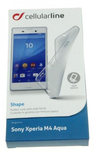 Pokrowiec | Etui gelly case do smartfona Sony Xperia M4 aqua Cellular line 36861 (przezroczysty),2