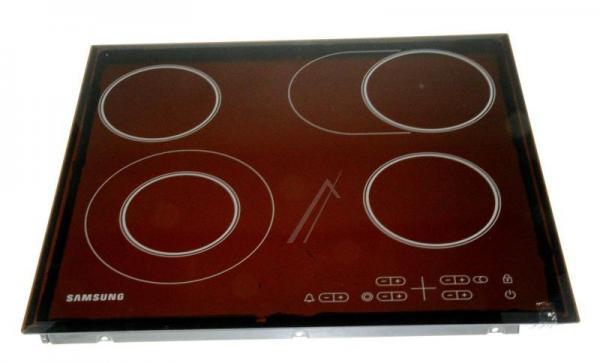 DG9400336A GLASKERAMIKFELD ASSY TOP PLATE:GF3N4T102,RADIANT,4-STSS SAMSUNG,0
