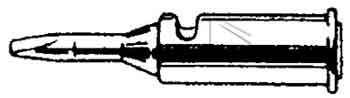 70-01-02 Grot 3mm do lutownicy T0051612199 Weller,0