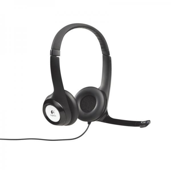 Słuchawki | Zestaw słuchawkowy na USB Logitech 981000406,0