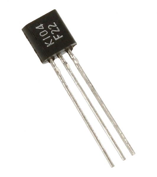 2SK104 Tranzystor TO-92 (n-channel) 30V 10mA,0