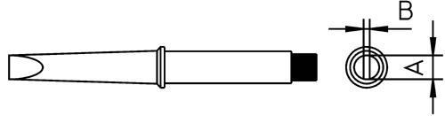 CT5A8 Grot stożek 1.6mm do lutownicy 4CT5A81 Weller,0
