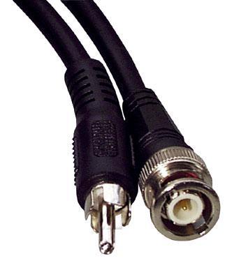 Kabel 2m BNC - CINCH (wtyk/ wtyk) standard,0