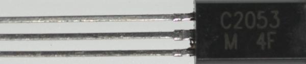 2SC2053 Tranzystor TO-92 (npn) 17V 0.3A 175MHz,0