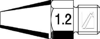 Grot 1.2mm do lutownicy 0662AE Ersa,0