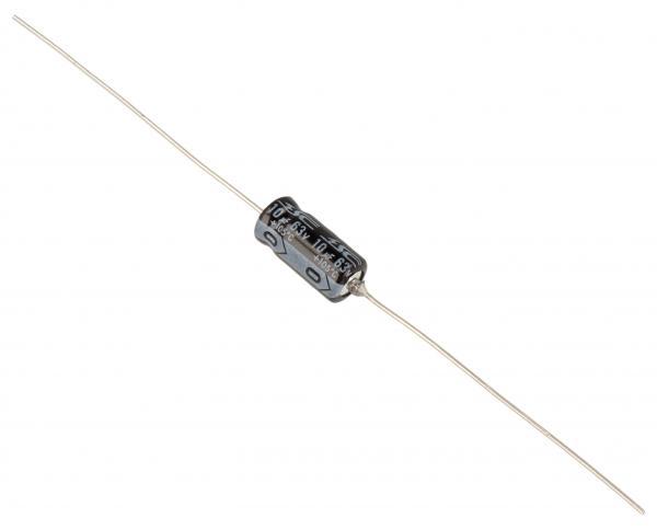 10uF | 63V Kondensator elektrolityczny (osiowy) 85°C 12mm/6mm,0