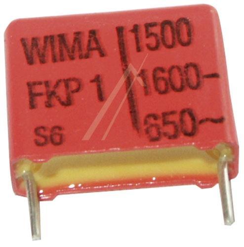 1.5nF | 1600V Kondensator impulsowy FKP1 WIMA 14mm,0