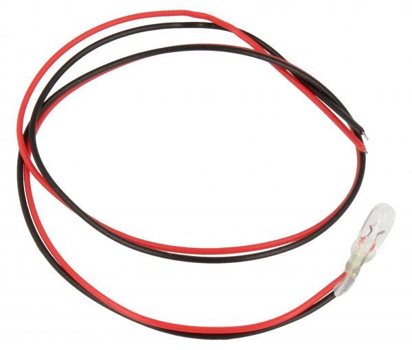 0.48W 8V 0.06A Żarówka miniaturowa T1 1/4 z kablem (12mm/4mm),0