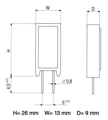5.6R   5W   Rezystor drutowy cwr5 5,6R-5,0W,0