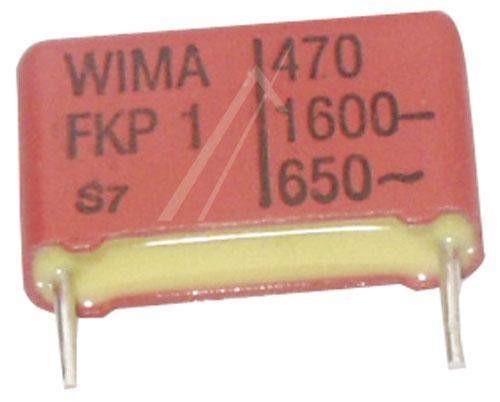 0.47nF | 1600V Kondensator impulsowy FKP1 WIMA 11mm,0