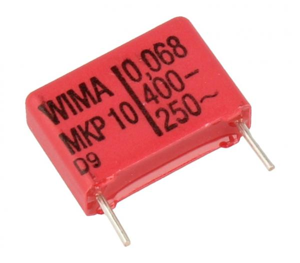 68nF | 400V Kondensator impulsowy MKP10 WIMA 12.5mm,0