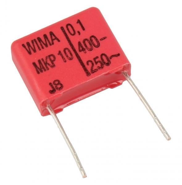 100nF   400V Kondensator impulsowy MKP10 WIMA 14mm,0