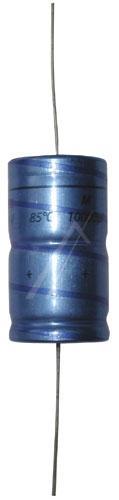 10000uF | 16V Kondensator elektrolityczny (osiowy) 105°C 40mm/21mm,0