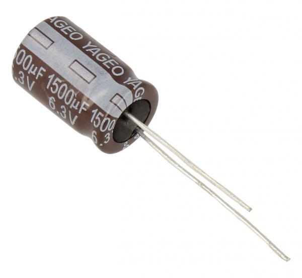 1500uF | 6.3V Kondensator elektrolityczny 105°C 16mm/10mm,0