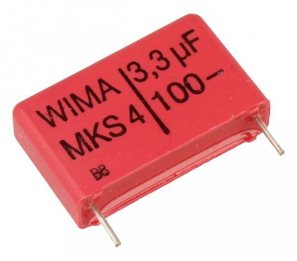 3.3uF | 100V Kondensator impulsowy MKS4 WIMA,0
