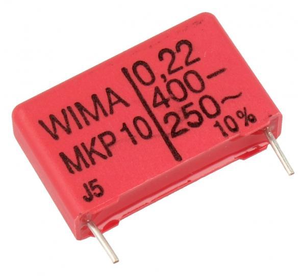 220nF   400V Kondensator impulsowy MKP10 WIMA 16.5mm,0
