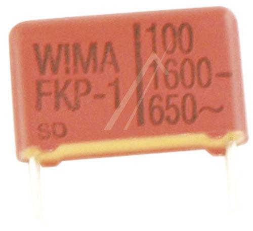 100pF | 1600V Kondensator impulsowy FKP1 WIMA 11mm,0