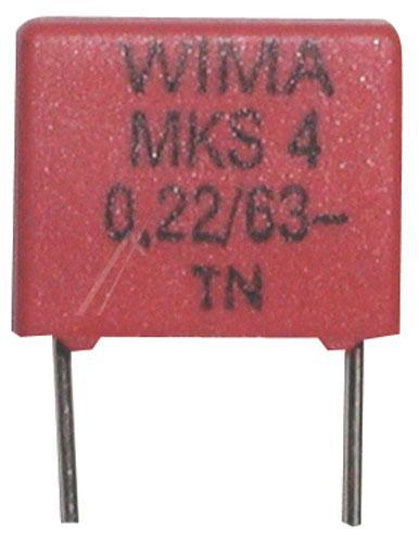 0.22uF   63V Kondensator impulsowy MKS4 WIMA,0