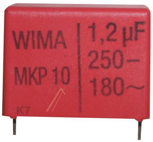 1200nF | 250V Kondensator impulsowy MKP10,0