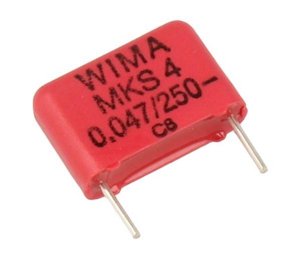 47nF   250V Kondensator impulsowy MKS4 WIMA,0