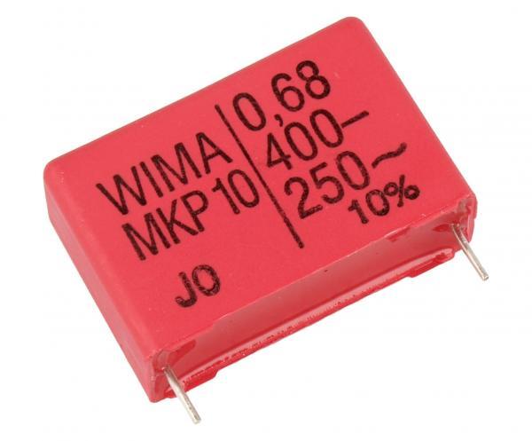 680nF | 400V Kondensator impulsowy MKP10 WIMA 21mm,0