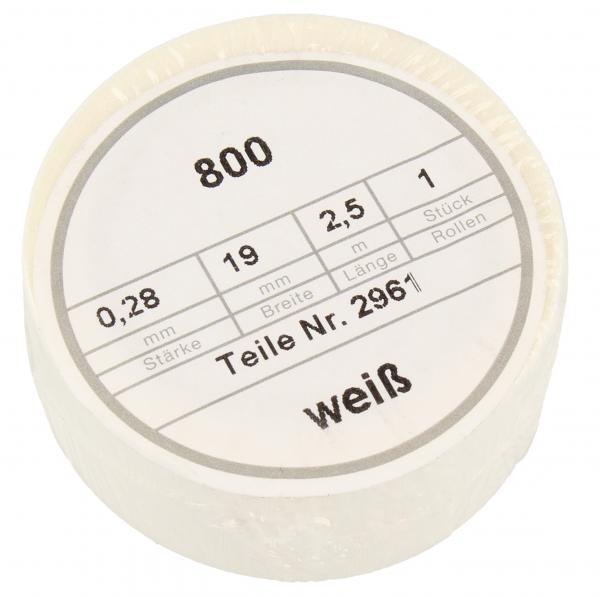 Taśma izolacyjna 19mm 2.5m (biała) Coroplast,0