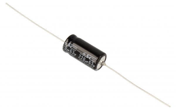220uF | 63V Kondensator elektrolityczny (osiowy) 85C 25mm/10mm,0