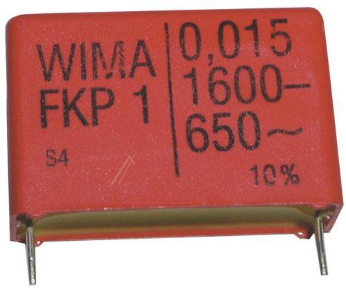 15nF | 1600V Kondensator impulsowy FKP1 WIMA 21mm,0