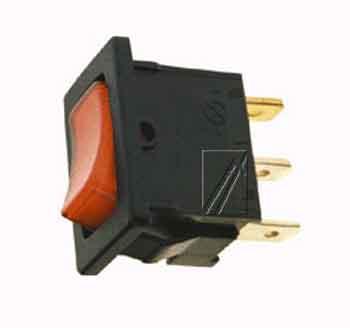 włącznik sieciowy 1-pole 3-pin 10 a 13 x 19,3 mm,0