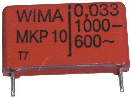 33nF | 1000V Kondensator impulsowy MKP10 WIMA 20.5mm,0