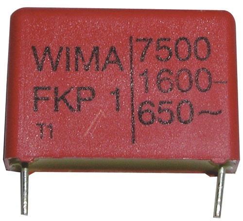 7.5nF | 1600V Kondensator impulsowy FKP1 WIMA,0