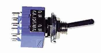 MS500F mikroprzełącznik wł/wył 6a-125v,0