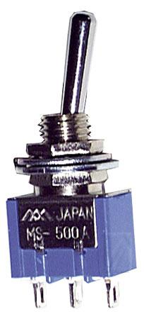 MS500D mikroprzełącznik wł/wył, 1 biegunowy,0